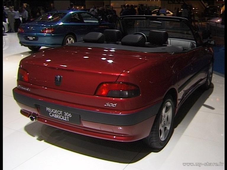 [ FOTOS ] 306 Cabriolet en varios Salones del Automóvil Paris_20