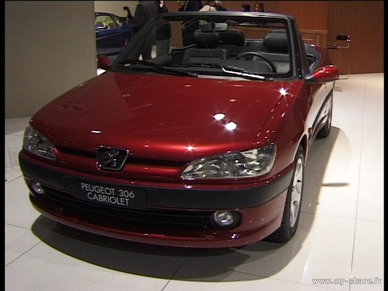 [ FOTOS ] 306 Cabriolet en varios Salones del Automóvil Paris_21