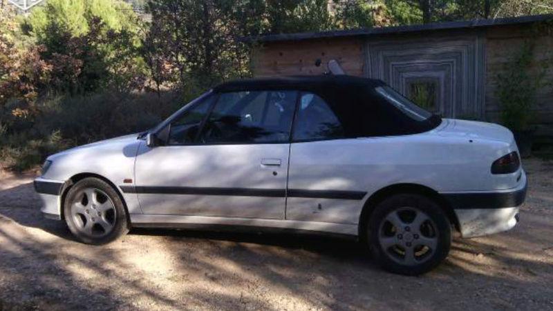 [ FOTOS ] Fase 1 - 1994 - Blanco Banquise - ¡El nuevo cabrio de Ralph! Peugeo11
