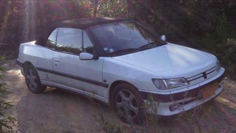 [ FOTOS ] Fase 1 - 1994 - Blanco Banquise - ¡El nuevo cabrio de Ralph! Peugeo12