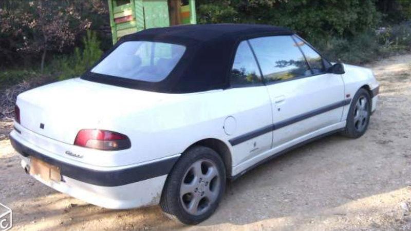 [ FOTOS ] Fase 1 - 1994 - Blanco Banquise - ¡El nuevo cabrio de Ralph! Peugeo13