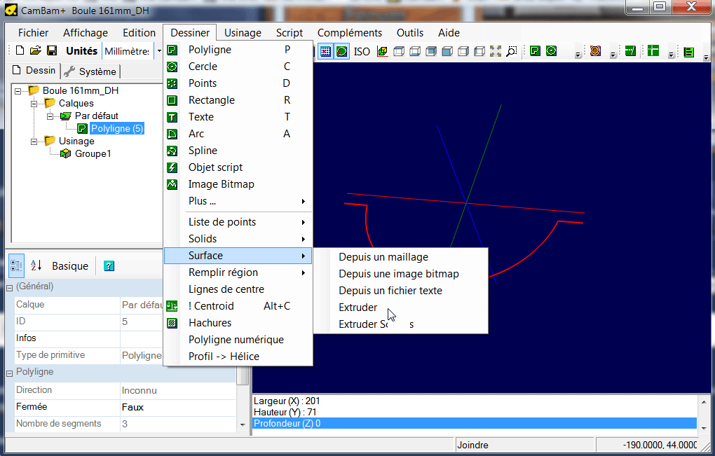 Réaliser une boule Tournb11