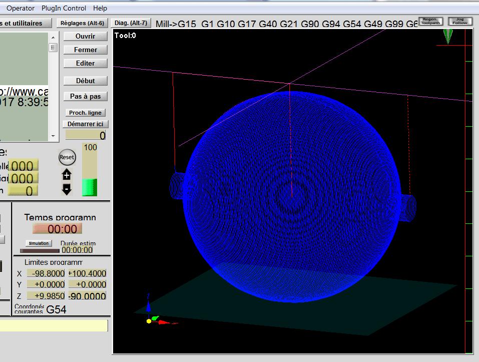 Réaliser une boule Tournb19