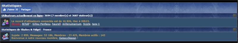 Attaques sur le forum officiel Shakes10