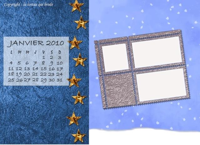 Page de calendrier Calend10