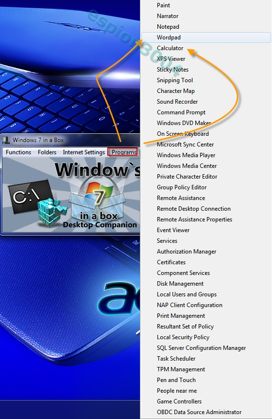 Windows 7 in a box : Utilitaire incontournable pour W7 11-12-15