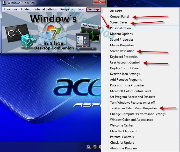 Windows 7 in a box : Utilitaire incontournable pour W7 11-12-17
