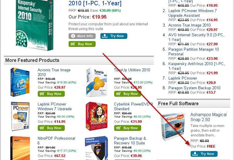 Jackpot sur les produits Ashampoo gratuit avec licence pour tous... 14-12-12