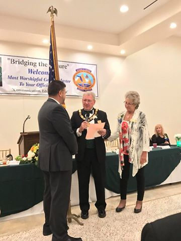 Visita oficial del MWGM de Florida Richard G. Hoover al 27º Distrito organizado por DGM Luis Meurice 20228312