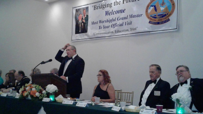 Visita oficial del MWGM de Florida Richard G. Hoover al 27º Distrito organizado por DGM Luis Meurice 20229610