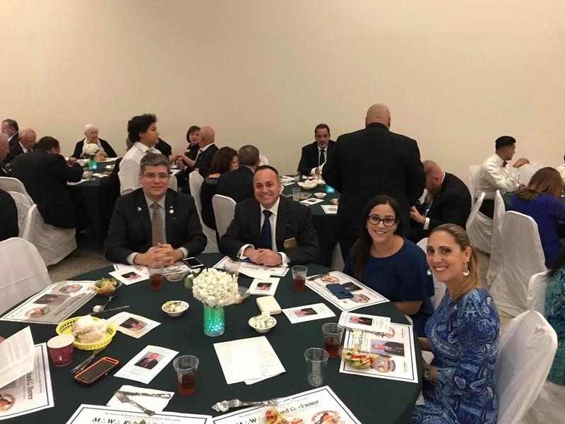 Visita oficial del MWGM de Florida Richard G. Hoover al 27º Distrito organizado por DGM Luis Meurice 20232110