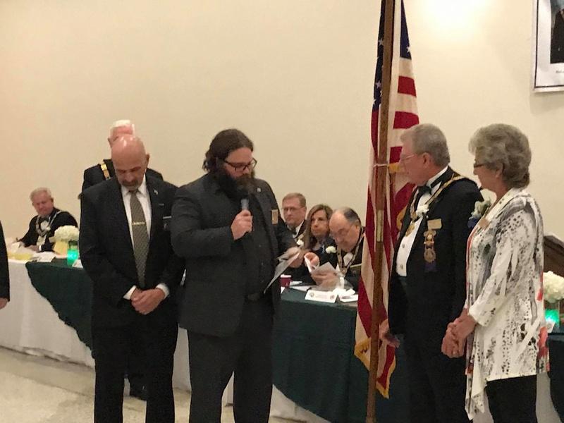 Visita oficial del MWGM de Florida Richard G. Hoover al 27º Distrito organizado por DGM Luis Meurice 20232710
