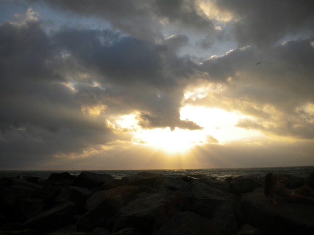 AMANECER EN HAOULOVER BEACH MARINA Dscn1312