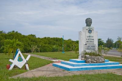 MONUMENTO A MARTI LOGIA VICTOR MUNOZ EN ALAMAR En_ala10