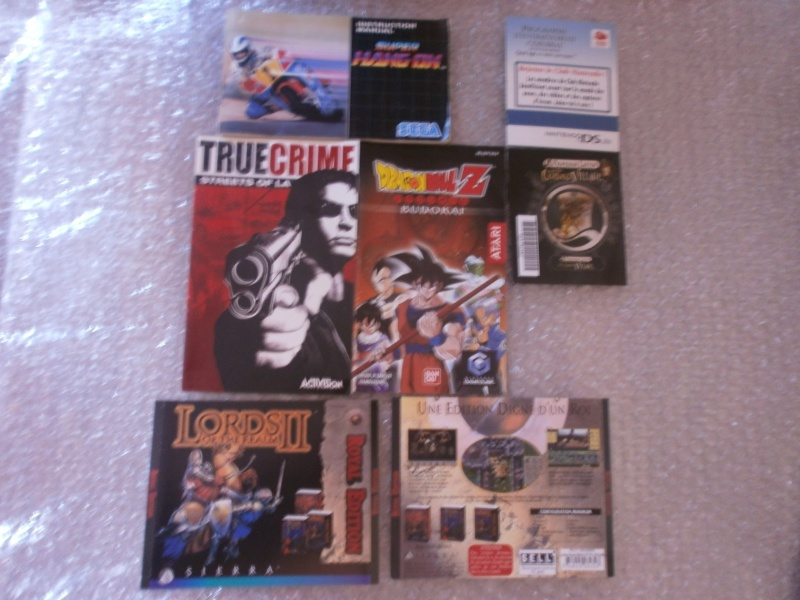 [VDS/ECH] Wii, Wii U, Ps1/2/3/4, Xbox/360, Saturn jap, Dreamcast jap, du loose... P9031412