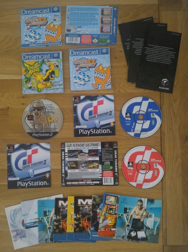 [VDS/ECH] Wii, Wii U, Ps1/2/3/4, Xbox/360, Saturn jap, Dreamcast jap, du loose... P_201715