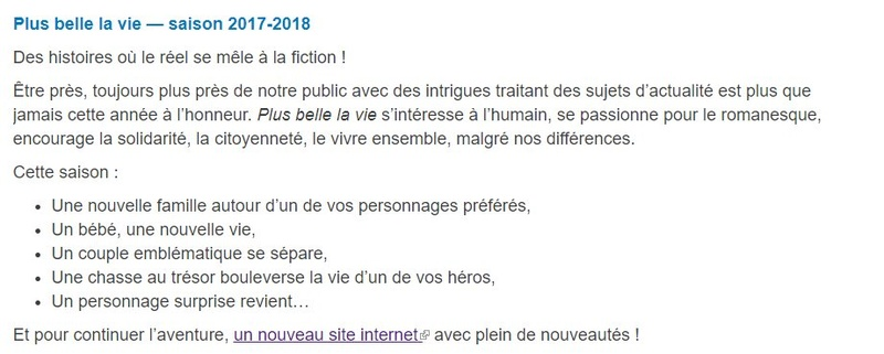 Infos intrigues saison 15 Pblv11