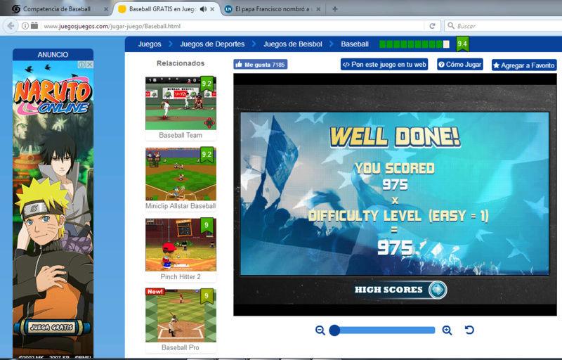 Competencia de Baseball Beisbo10