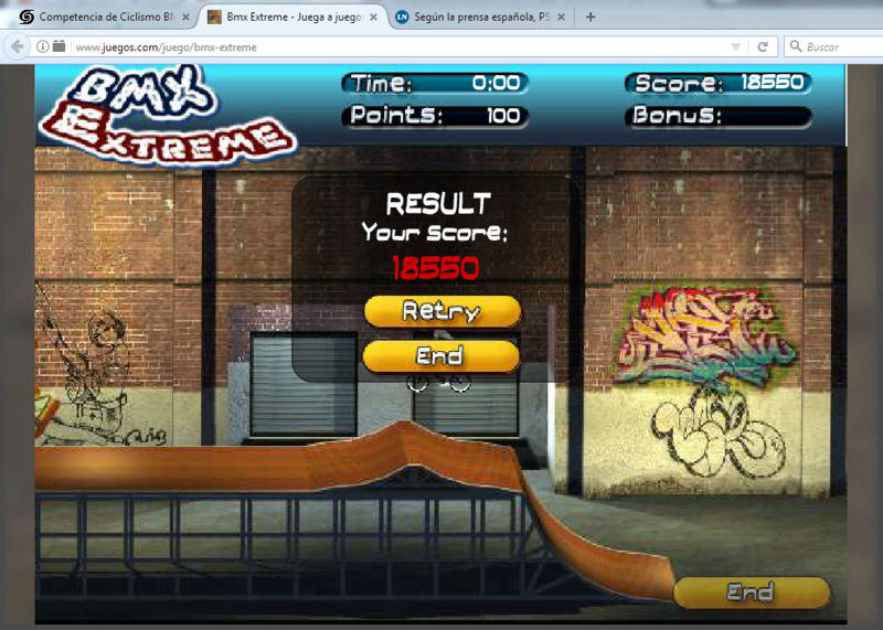 Competencia de Ciclismo BMX Bmx210
