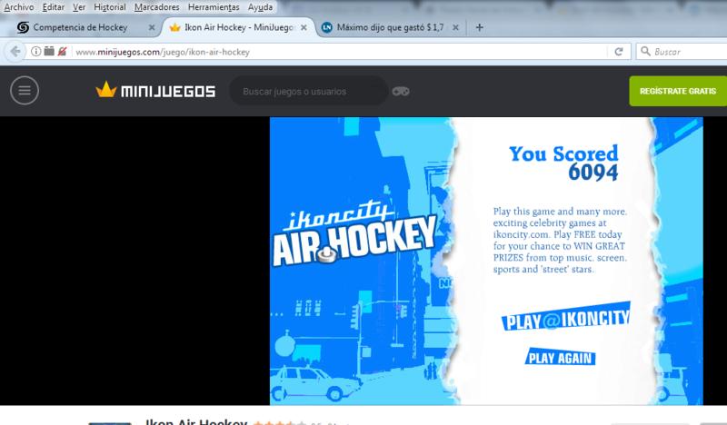 Competencia de Hockey Hockey11