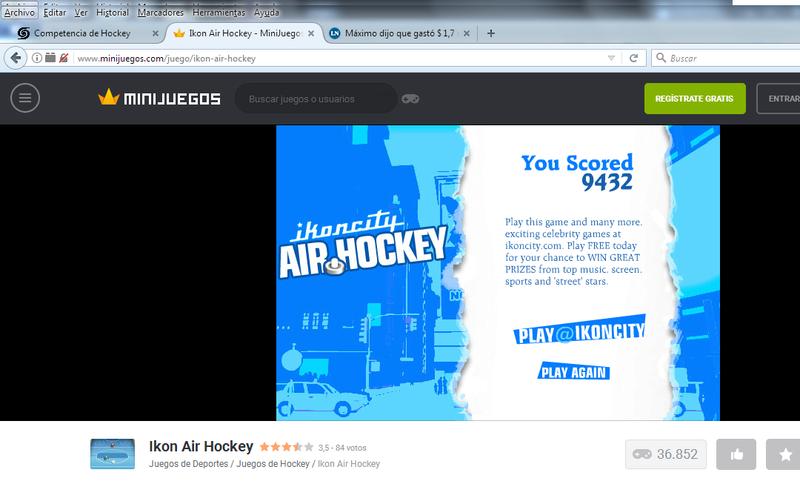 Competencia de Hockey Hockey12