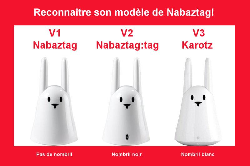 [Tuto] Quel modèle de Nabaztag ai-je? Reconn10