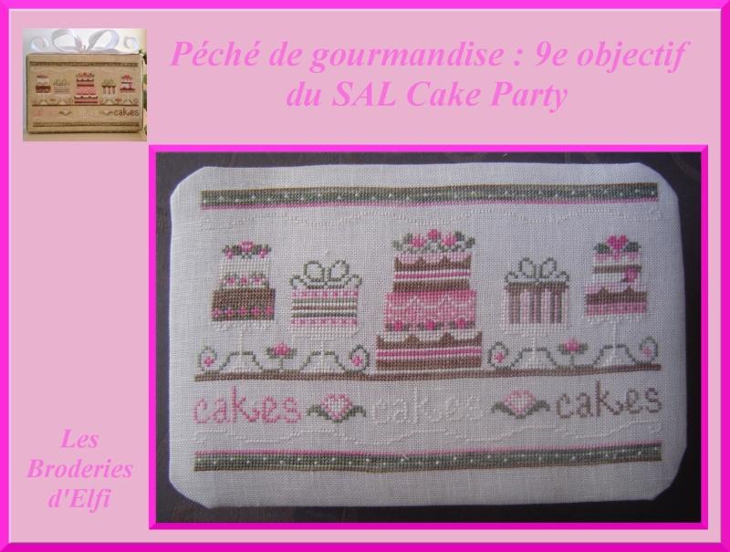 9e et dernière étape du SAL cake Party !!!! 9eobje11