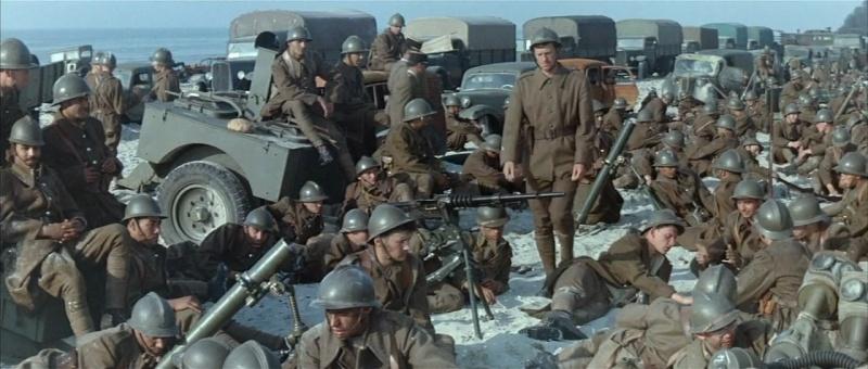 "1964 : tournage de ""Un week-end à Zuydcoote"" Weeken11"