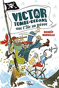 [Minville, Benoît] Victor Tombe-Dedans : Victor Tombe-Dedans sur l'île au trésor 61km1s10