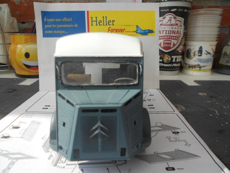Citroën fourgon type h  1/24  heller - Page 3 Aar_ou15