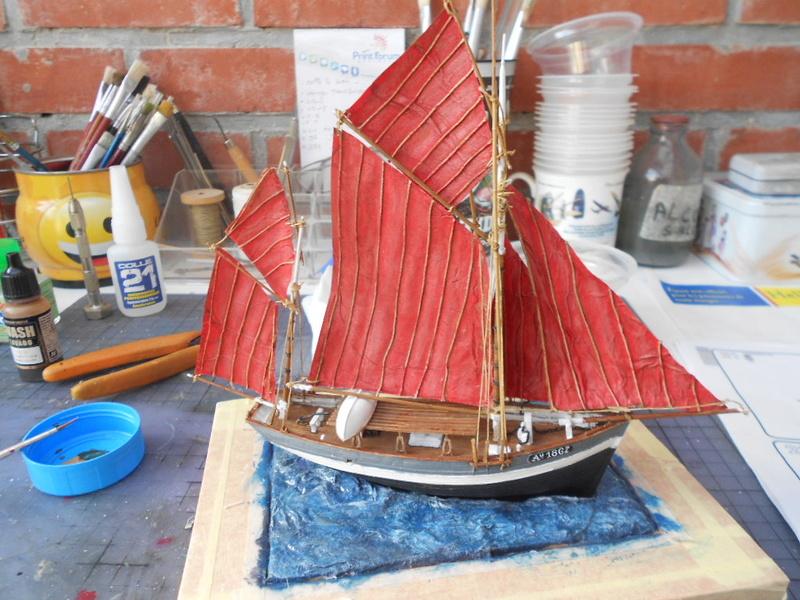 Thonnier Armor  mon premier bateau Bateau55