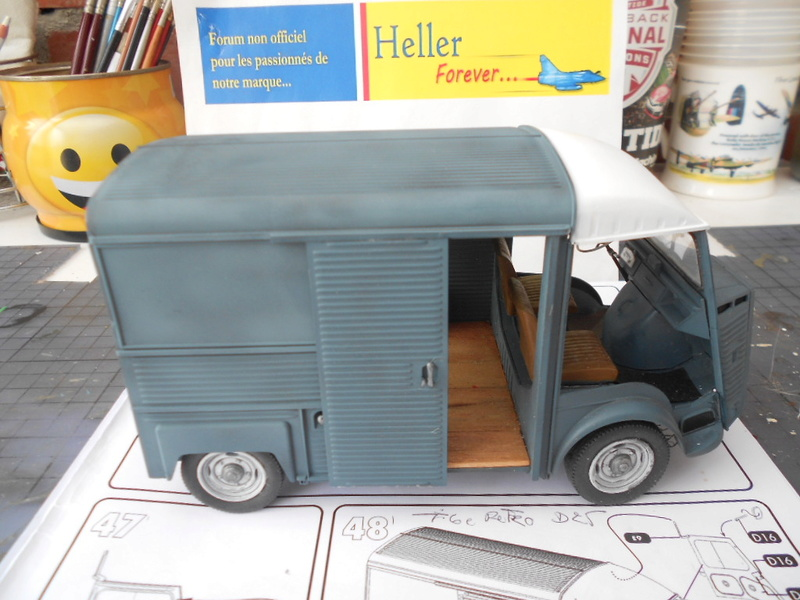 Citroën fourgon type h  1/24  heller - Page 3 Hy_pot14