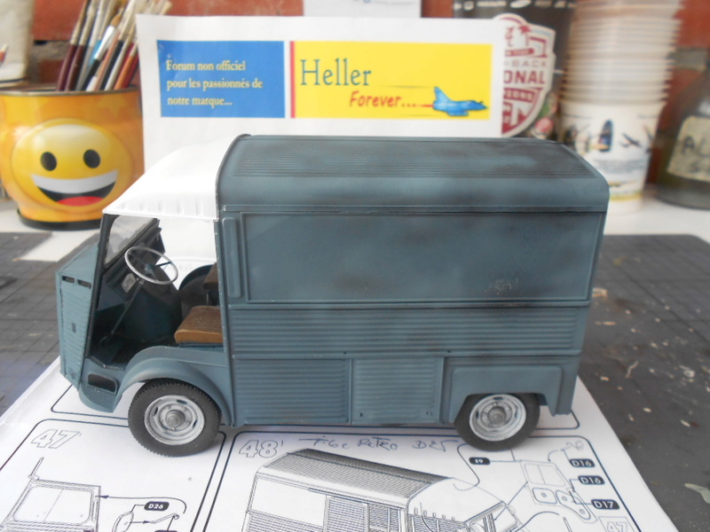 Citroën fourgon type h  1/24  heller - Page 3 Hy_pot15