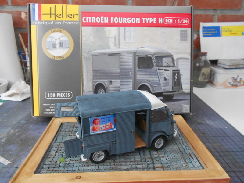 Citroën fourgon type h  1/24  heller - Page 4 Hy_ter36