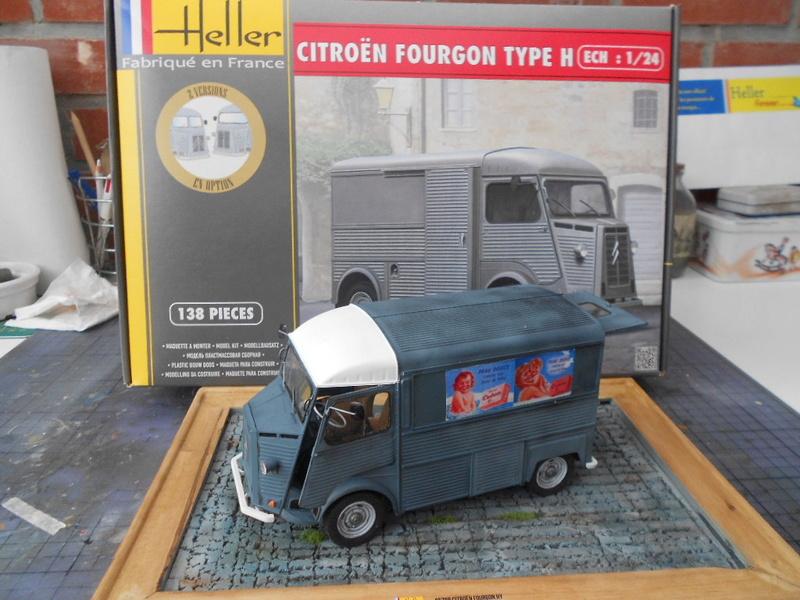 Citroën fourgon type h  1/24  heller Hy_ter63