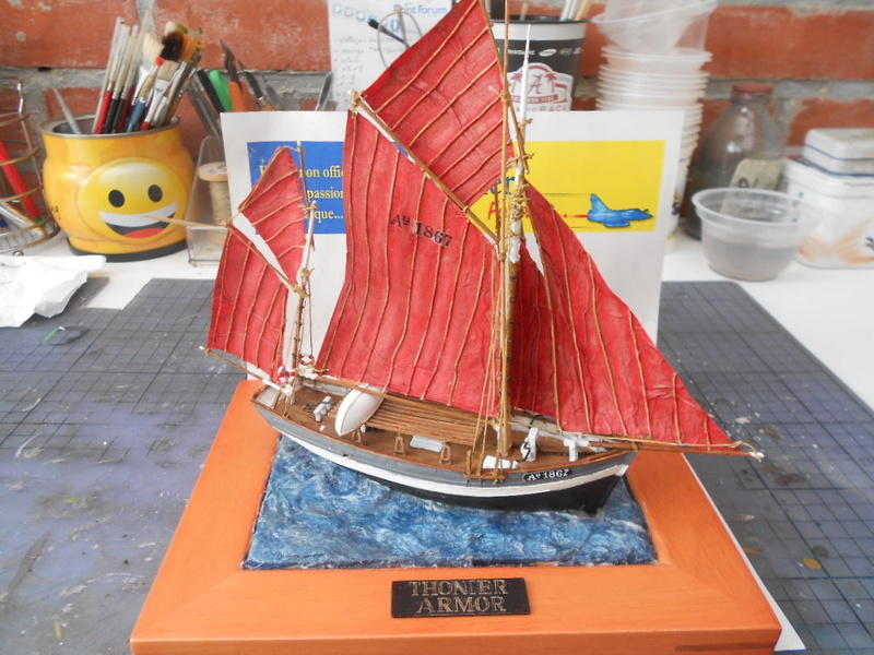Thonnier Armor  mon premier bateaux  Thonie32