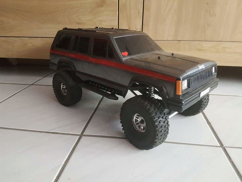 Jeep Rubicon scx10 110