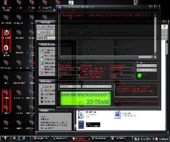 XT-SPY LOGGER VERSION 1.3 Captur10