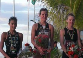 Mary Rabie gagne l'itu race de l'ile maurice Maurit13