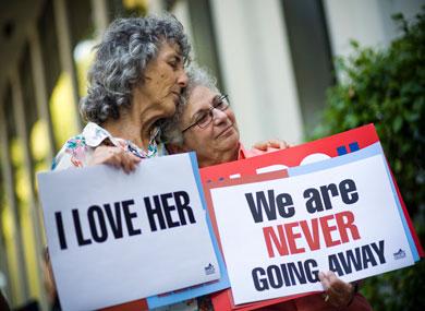 Persidangan terpenting mengenai hak-hak LGBT di Amerika 88544910