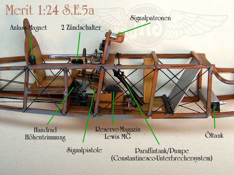 RAF S.E.5a / Merit, 1:24 Merit_15