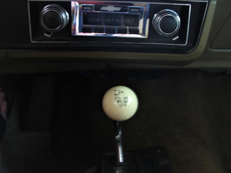 Auto shifter knob Dscf4111
