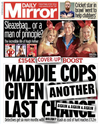 Madeleine McCann: Government 'gives police £154,000' to extend search for missing toddler Cops10