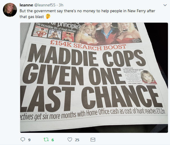 Madeleine McCann: Government 'gives police £154,000' to extend search for missing toddler Leanne10