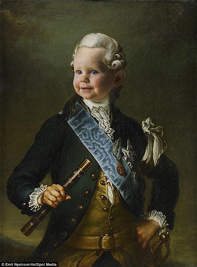 Expo sur Fersen et Marie-Antoinette - Palais royal de Stockholm Emil_g10