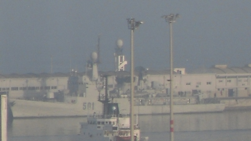 Royal Moroccan Navy Descubierta Frigate / Patrouilleur Océanique Lt Cl Errahmani - Bâtiment École Sdc10410