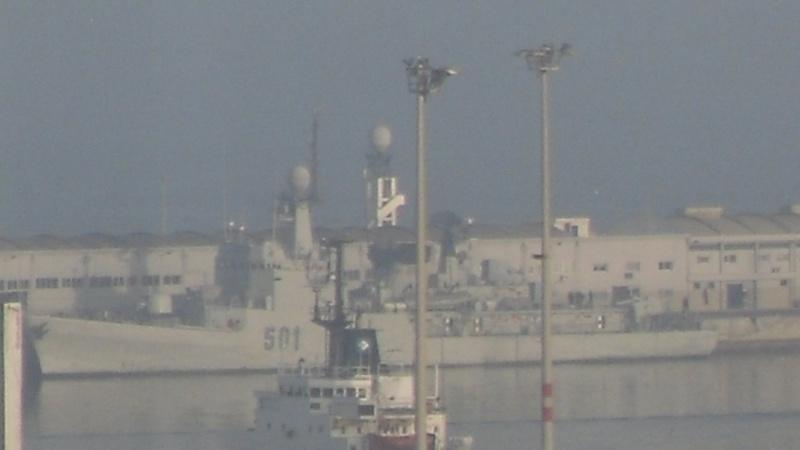 Royal Moroccan Navy Descubierta Frigate / Patrouilleur Océanique Lt Cl Errahmani - Bâtiment École Sdc10411