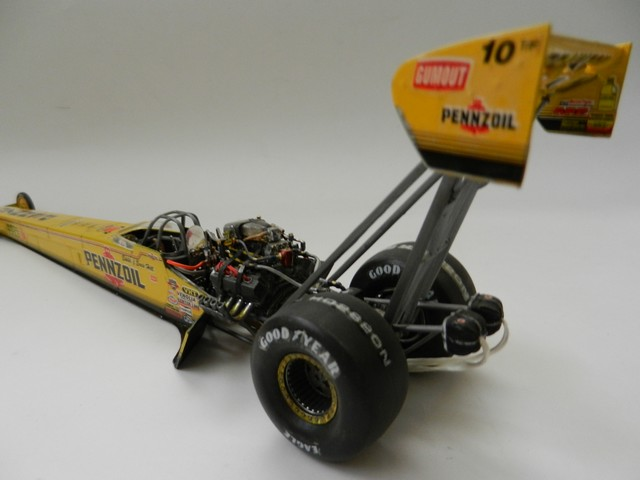 Pennzoil Top Fuel Dragster 00412