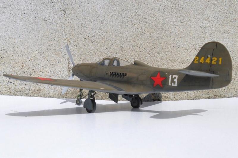 1/48 Eduard Profipack P-39K-1-BE Dmitri B. Glinka 0111