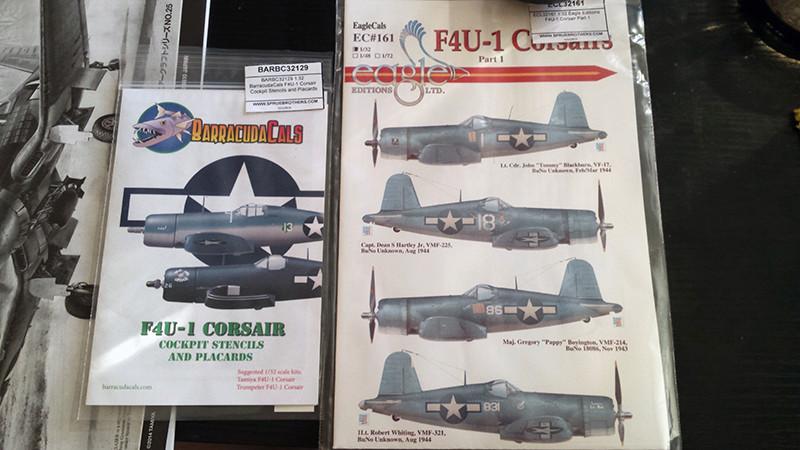 "Tamiya 1/32 F4U-1A: Lt P. Whiting ""Luscious Lil-Nan 0112"